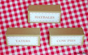 FARM BIRTHDAY PARTY LABELS