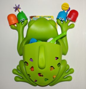 FIVE REASONS WHY I LOVE THE BOON FROG BATH TOY ORGANIZER