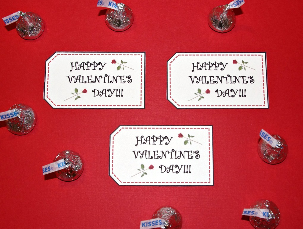 photo relating to Valentine's Day Tags Printable identified as Totally free PRINTABLE VALENTINES Working day TAGS - Exciting And Practical Blog site